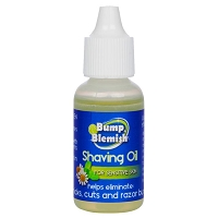 BUMP & BLEMISH - SHAVING OIL - for SENSITIVE SKIN 1/2 fl. oz (15 ml)