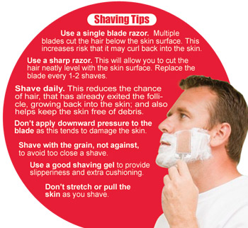 Shaving tips to avoid razor bumps