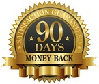 90 day no-hassle money back guarantee