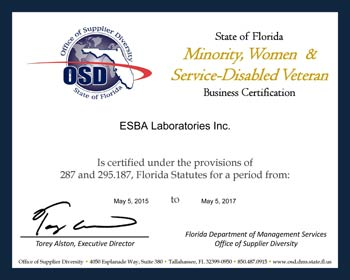 Minority, woman-owned certified business
