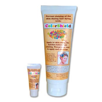 Hairline Colorshield Pro available in 2 sizes: 1/4 Oz (10 g) and 4 Oz (113 g) tubes