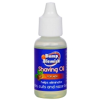 BUMP & BLEMISH - SHAVING OIL - for MEN 1/2 fl. oz (15 ml)