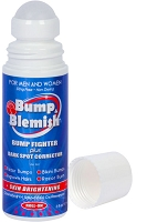 BUMP & BLEMISH - SOLUTION 3 Oz (90 ml) New! Large Roll-On Applicator