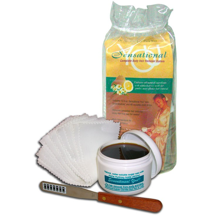 SENSATIONAL YOU waxing hair removal kit