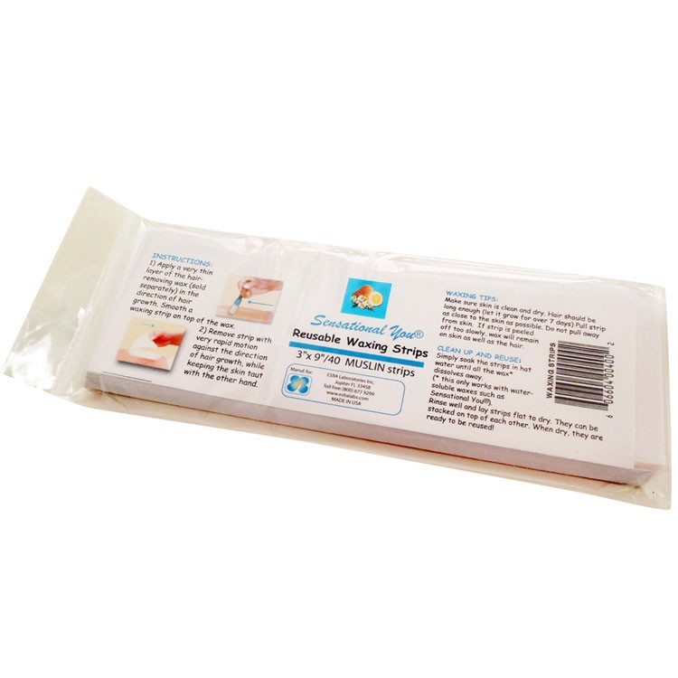WAXING STRIPS- for hair removal- reusable- pack of 40