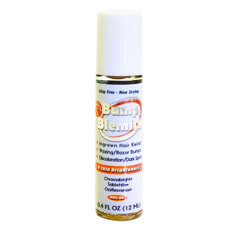 BUMP & BLEMISH - SOLUTION 0.4 Oz (12 ml) Travel Size with Roll-On Applicator
